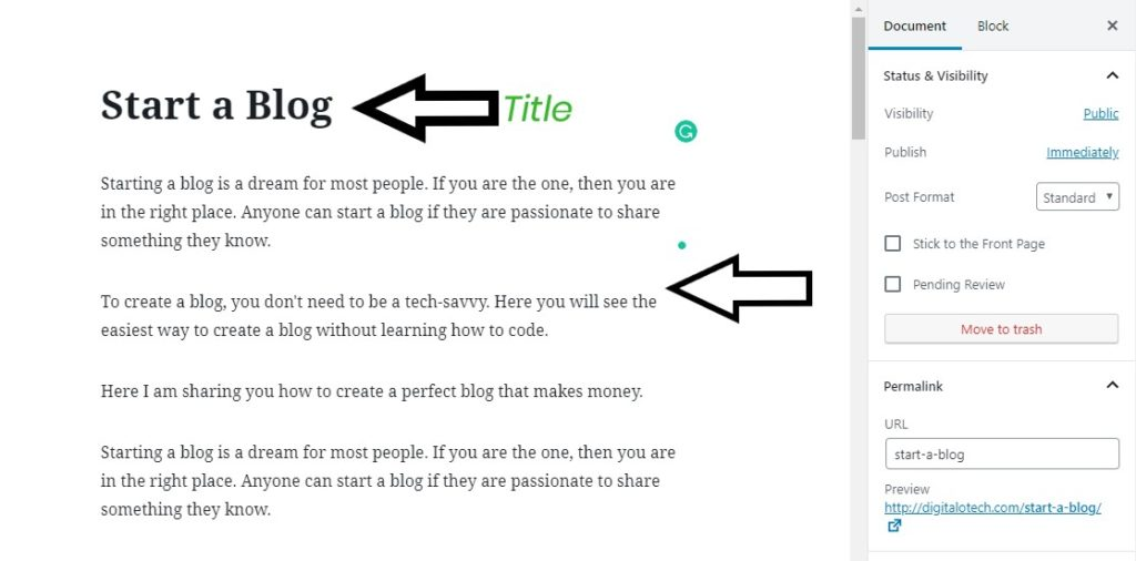 How to start a free blog 2019