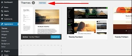 Customize wordpress blog